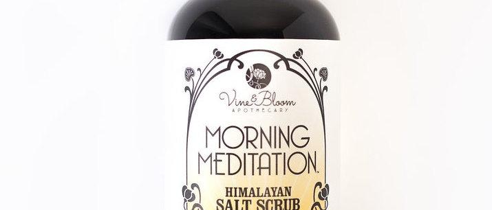 Morning Meditation Salt Scrub - 8 oz.