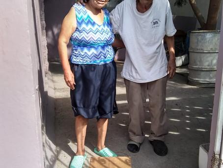 Donación de Despensas en Santa Catarina