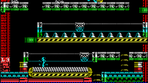 Horizontal moving platforms in MPAGD