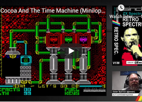 Retro Spectrum reviews Cocoa and the Time Machine
