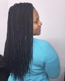 #crochet #naturalbeauty #braids #protectivestyles #booknow #thestaceyciceronstudio 💞💞💞💞#stylist