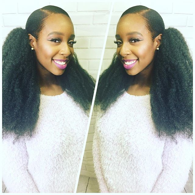 Ponytails😜😜😜😜with #marleyhair shes #instagood #instacutey #facebeat #hairdid #listylist #baldwin