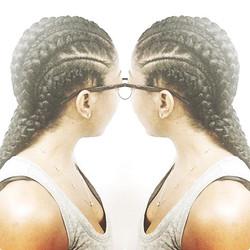 Biggie Smalls braids  final look! 😜😜#braids #braiders #braidstyles #protectivestyles #naturalhair