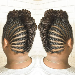 #twist #updo #naturalhair #linaturalhairstudio #instadaily she's #instagood #picoftheday #trendy #of