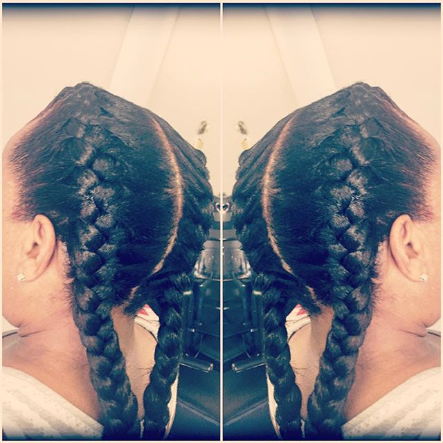#frenchbraids #braiders #braidstyles #protectivestyles #naturalhair #hair  #cornrows  #cornrowstyles