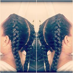 #frenchbraids #braiders #braidstyles #protectivestyles #naturalhair #hair  #cornrows  #cornrowstyles