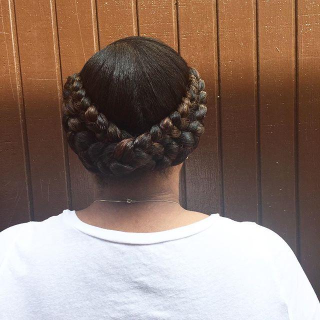 #braids #goddessbraids #braiders #protectivestyles #naturalbeauty #naturalhairstylist #ananodaclark
