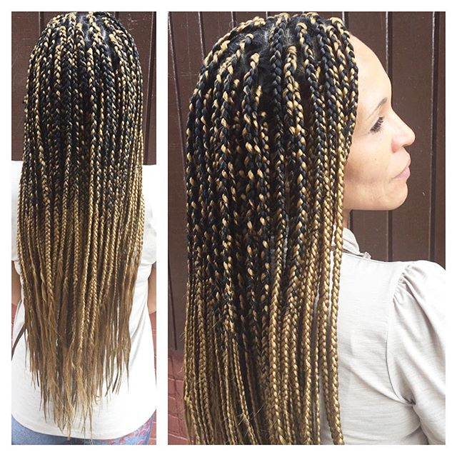 #braids #boxedblondes #protectivestyles #naturalhair #naturalhairstyles #fashionbraids #braidsinbald