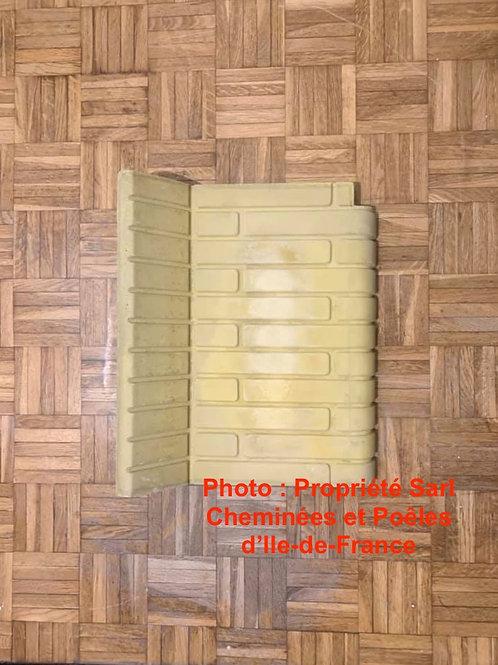 brique réfractaire 3953 droite insert Philippe Godin 843 cheminee
