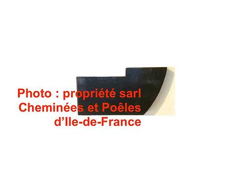 Chamotte de Fond Bas Droit pour Poêle Hacket - 014046