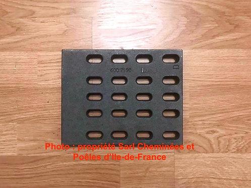 Demi Grille Foyère Droite (5 rangées) - 600 7590 D 6007590