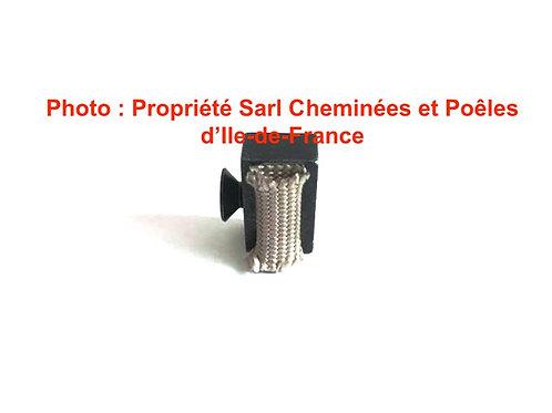 Pièces détachées Insert 600 Clame de Vitre Vis 3021R Cheminées Philippe Foyer pièce détachée Radiantes