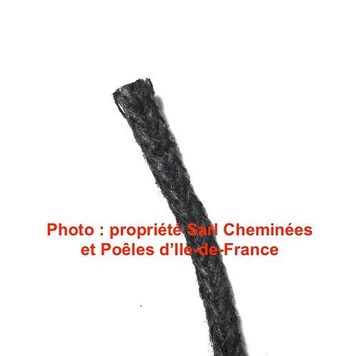 1M de Joint Tressé de Verre Gris pour Plaque Décor Diamètre 8mm 06 1 08 2PLDECOR