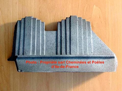 Pièces détachées Insert 700 Chenet Latéral Gauche 700 59 TF Cheminées Philippe Foyer pièce détachée Radiantes