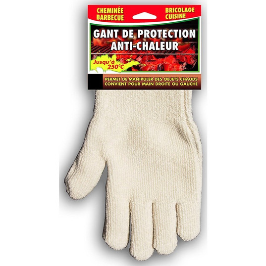 gant anti chaleur protection accessoires cheminee insert poele cheminees inserts poele philippe phillips accessoire