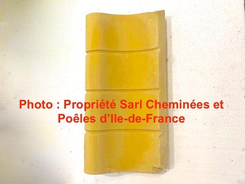 Brique Latérale pour Fonte Gauche - 3945 Réfractaire Pierre