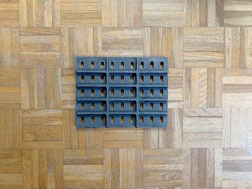 Pièces détachées Insert Grille 1850 4649 18504649 1843 Cheminées Philippe Foyer pièce détachée Radiantes Radiante Foyers