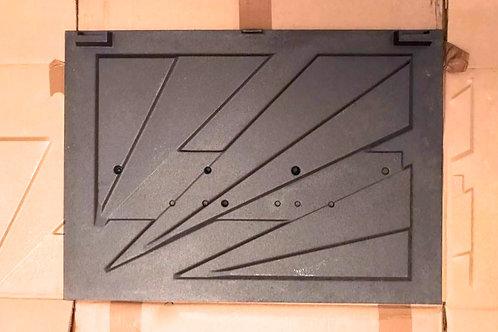 Plaque décor Insert 748 748-2 6692 pièces détachées Cheminées Philippe Philipps