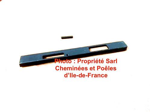 Pièces détachées Registre - 620 5084 A 6205084 Ecoradiante 620 691 Eco Cheminées Philippe Foyer pièce détachée Radiantes