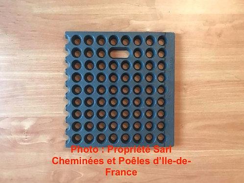 Demi Grille foyère 1000 16 100016 D 100016D Droite pièces détachées Cheminées Philippe Philipps