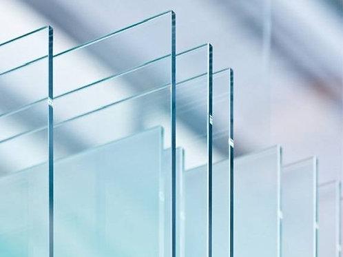 vitre vitres verre verres accessoires cheminee insert poele prismatique pliee inserts laterale face accessoire refractaire