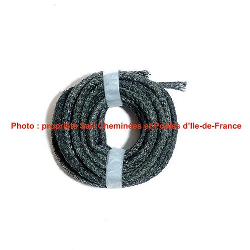 1M de Joint Tressé de Verre Gris pour Vitre Diamètre 8mm 06 1 08 2VITRE