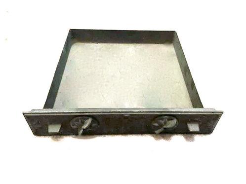 Cendrier pour Ancien Insert 600 avec Façade Cendrier 60045NM + 2 Boutons