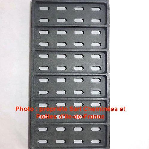 Pièces détachées Insert 700 Grille Foyère 700 NM 10 700NM10 Cheminées Philippe Foyer pièce détachée Radiantes Radiante Foyers