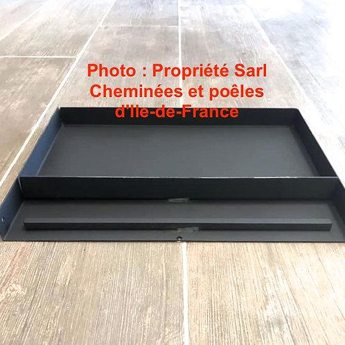 Pièces détachées Insert 700 Cendrier Bac à cendres TF NM Cheminées Philippe Foyer pièce détachée Radiantes Radiante Foyers