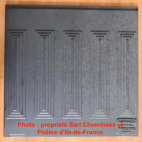 Pièces détachées Insert 700 70047TF Plaque Décor Lignes Lignes Fond Cheminées Philippe Foyer pièce détachée Radiantes