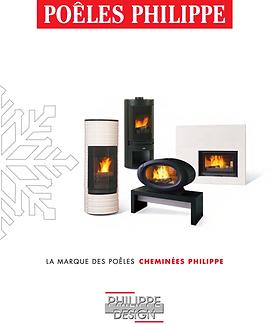 Catalogue Poêles à bois Cheminées Philippe Ile de France 93