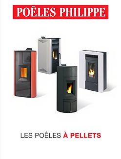 Catalogue Poêles à granulés Cheminées Philippe Ile de France 93