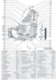 Insert 843 Pièces détachées Cheminées Philippe Les Radiantes