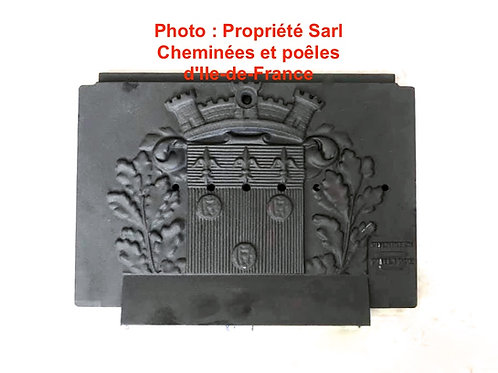 Pièces détachées Insert 600 Plaque décor 6669 6006669 Cheminées Philippe Foyer pièce détachée Radiantes Radiante Foyers