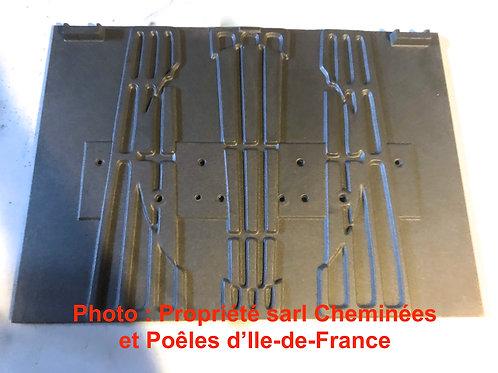 Pièces détachées Insert 748 Inserts Cheminées Philippe 748 Foyer pièce détachée Radiantes Radiante 6116 plaque décor 6116A