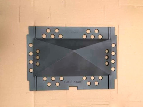 Pièces détachées Insert 1000 100036B 100036 déflecteur sup Cheminées Philippe Foyer pièce détachée Radiantes Radiante Foyers
