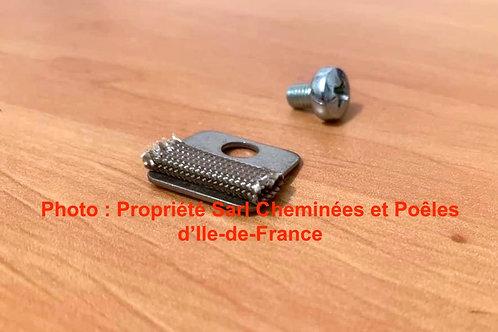 Pièces détachées Insert 693 692 Cheminées Philippe Foyer clame inox vis pièce 3152 détachée Radiantes Radiante