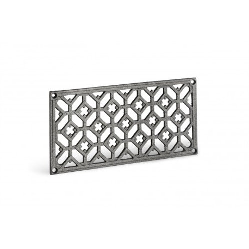accessoires cheminee insert poele cheminees inserts poele grilles grille aeration air ventilation decompression fonte metal