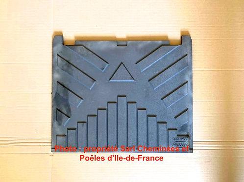 Pièces détachées Insert 820 Plaque décor 8205121 5121 Cheminées Philippe Foyer pièce détachée Radiantes Radiante Foyers