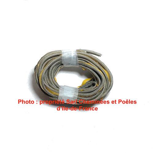 1M de Joint Plat Adhésif Gris pour Porte Largeur 8mm Epaisseur 1mm 06 3 08PORTE
