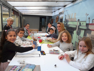 Atelier Art-thérapie - Association Etincelle  16 décembre 2017