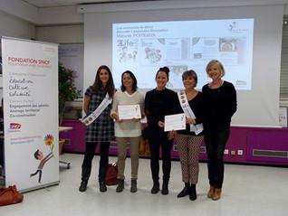 Prix Fondation SNCF - Mercredis Mimi - ateliers art-thérapie Etincelle Lr
