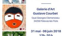 EXPOSITION Galerie COURBET  Palavas-Les-Flots
