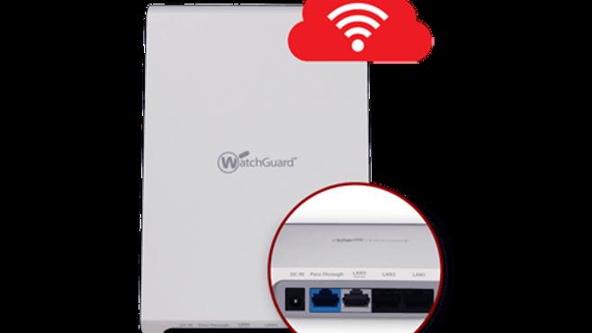 WatchGuard AP225 Wallplate og 1-år Secure Wi-Fi