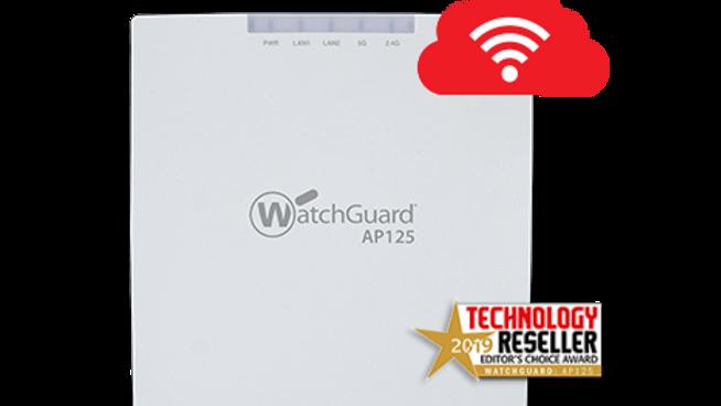 WatchGuard AP125 og 1-år Secure Wi-Fi