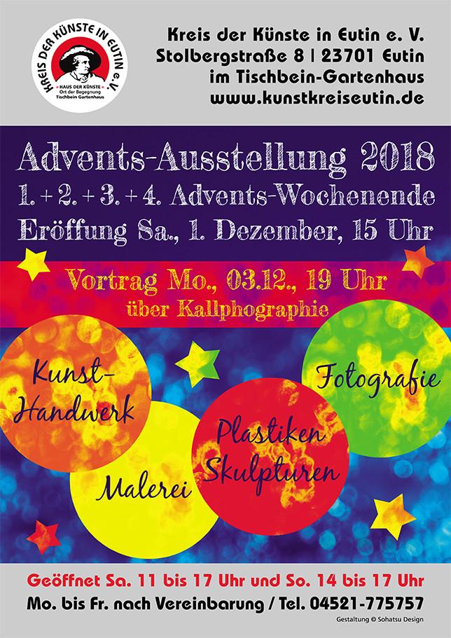 Advents-Ausstellung 2018 in Eutin