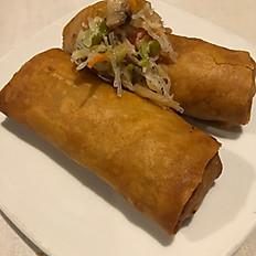 13. Spring Rolls (1) (Shrimp or Veg)