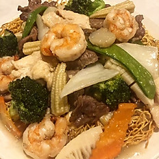 128. Hong Kong Style House Special Chow Mein