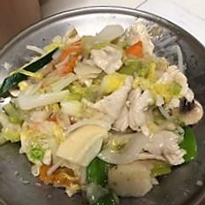 42. Chicken Chop Suey