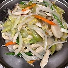 34. White Meat Chicken Chow Mein